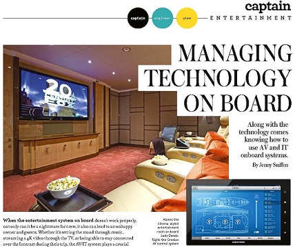 Dockwalk Article on Managing Technology